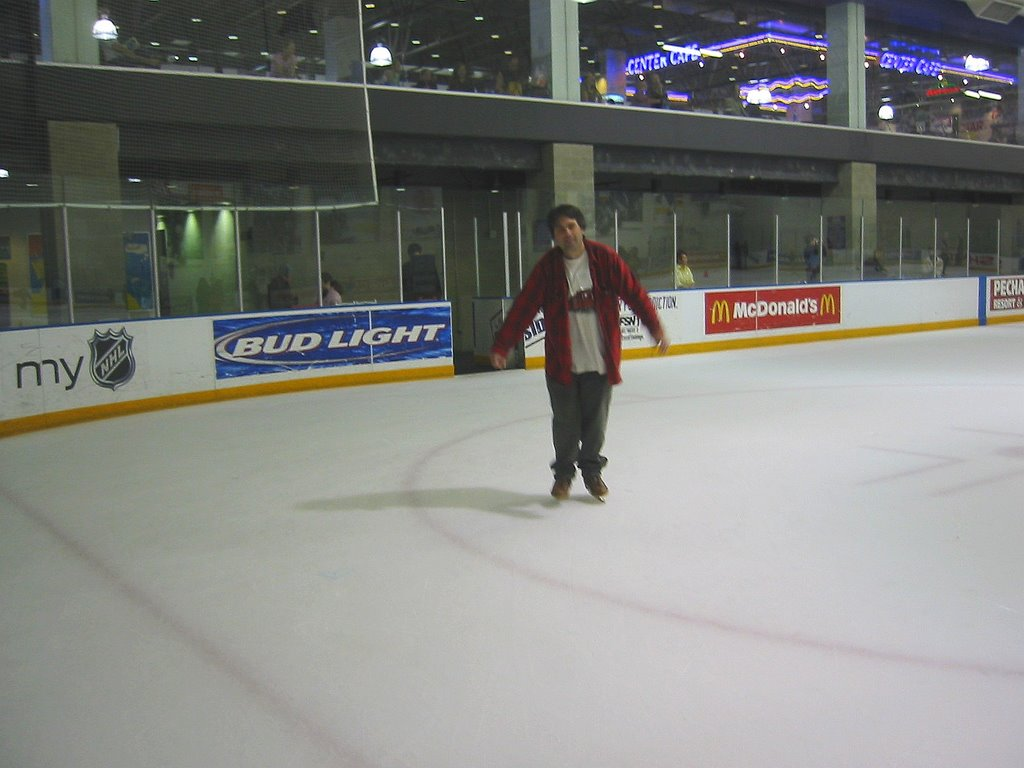 Ice Skating At Toyota Sports Center In El Segundo, CA
