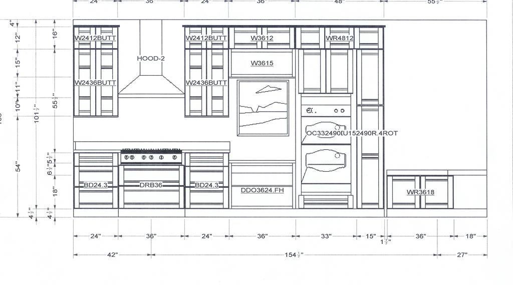 Kitchen cabinets elevations lakecountrykeys regarding for Autocad kitchen cabinets