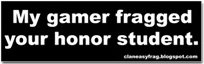 Honor Student Bumper Sticker Only $3.99