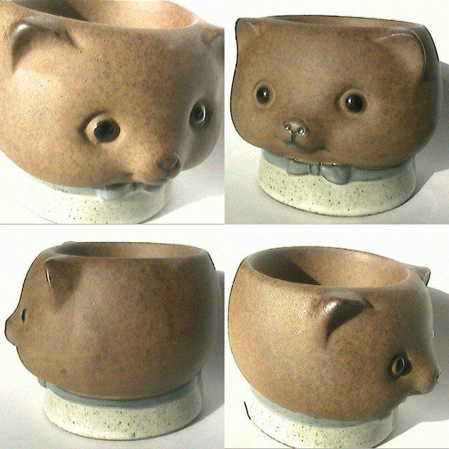 Como pintar ojos en ceramica de animales imagui for Como pintar jarrones de ceramica