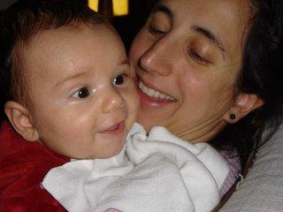 Nahuel y Mónica, mayo de 2005