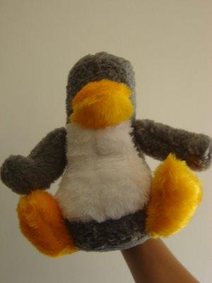 Tota Tux es el nombre que le pusieron al pingüino en ese sitio