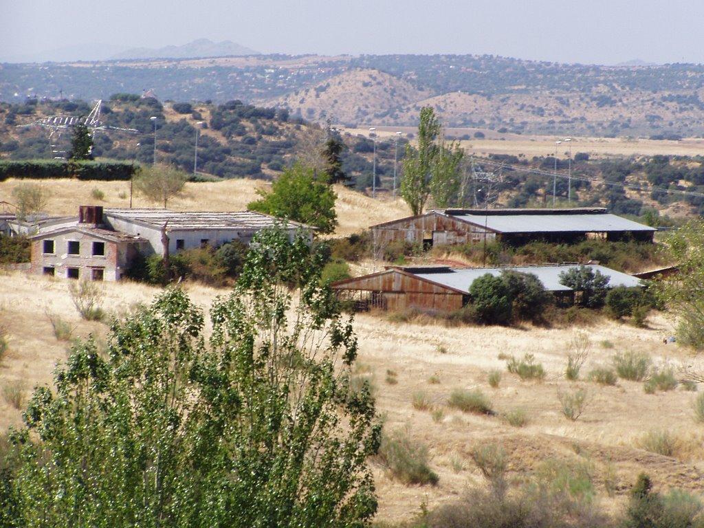granja lechera abandonada en las rozas