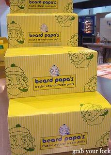 Beard Papa boxes