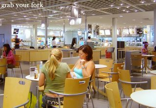 Ikea cafeteria