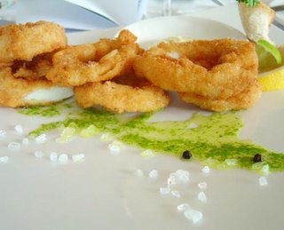 calamari rings side-view