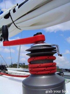 sailing winch