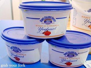 King Island Dairy yoghurt