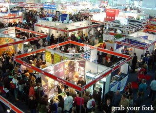 Good Food Show crowds