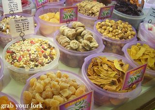 dried fruits and mixes