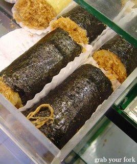flossy seaweed buns