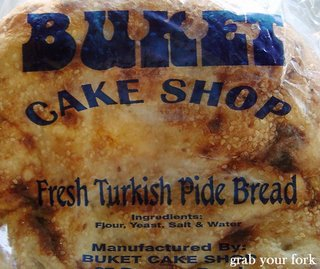 Turkish bread from Buket