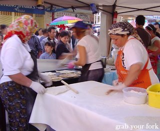 gozleme stall