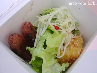 thai style pork sausages