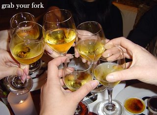 cheers to foodblogging