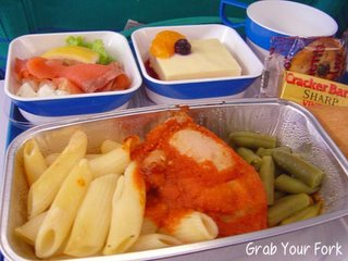 Air Tahiti lunch