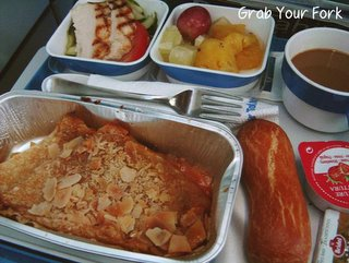 Air Tahiti breakfast