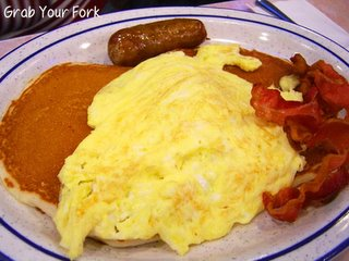 Tom's Restaurant Lumberjack breakfast