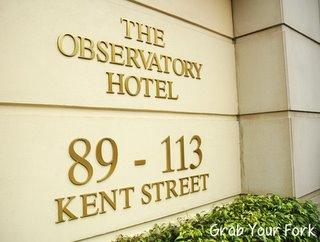 observatory sign