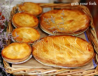 fresh baked apple pies from the Apple Man