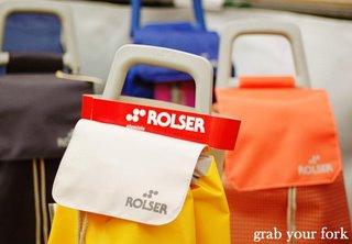 Rolser shopping carts