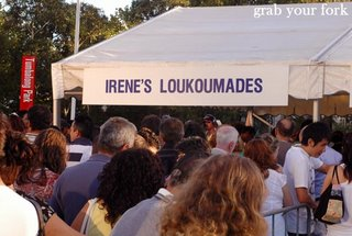 loukoumades queue