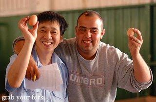 Egg vendors