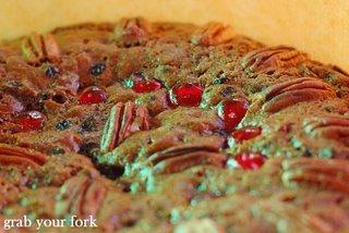 fruit cake round