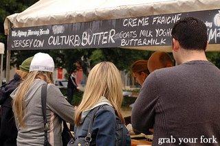 Butter stall