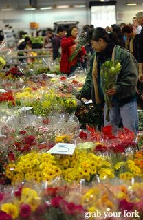 Flemington flower markets