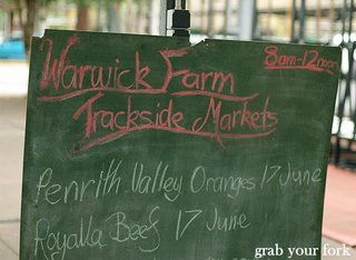 Warwick Farm Markets