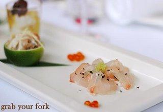 bar cod sashimi
