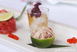 trevally sashimi