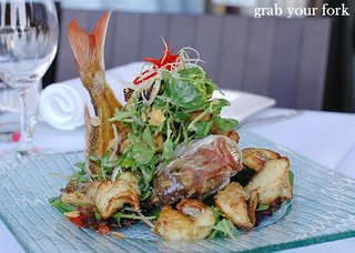 snapper salad