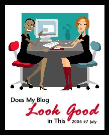 Does My Blog Look Good in This July 2006