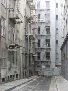 bush street alley