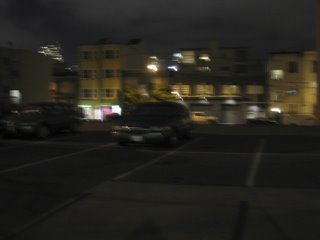 carkpark at night (san fran)