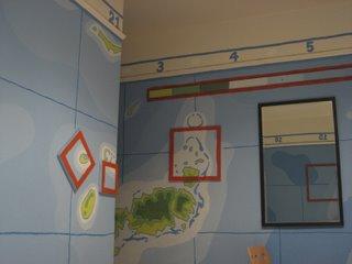 hotel des arts - map room
