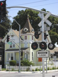 house and crossing