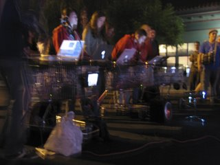 the mobile collective - laptops and shopping trolleys
