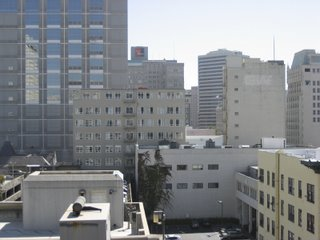 oakland buildings - view