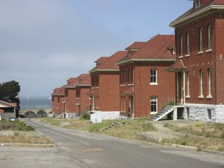 the presidio buildings