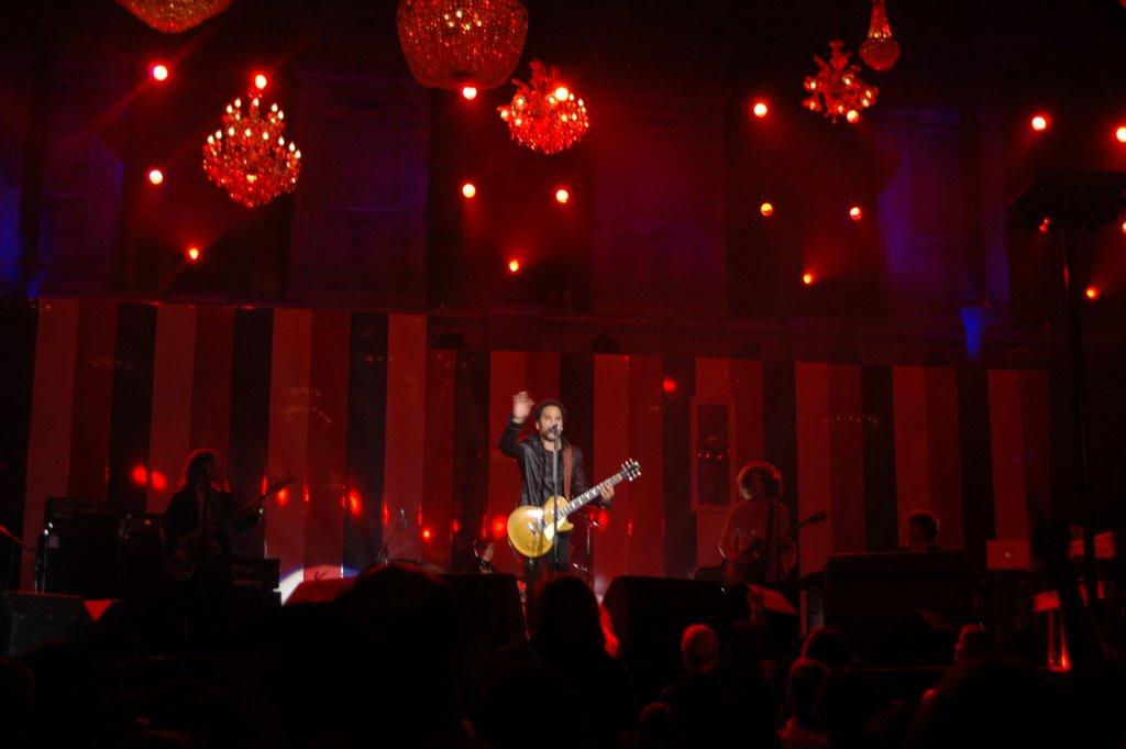 Lenny Kravitz en concert privé pour Tommy Hilfiger