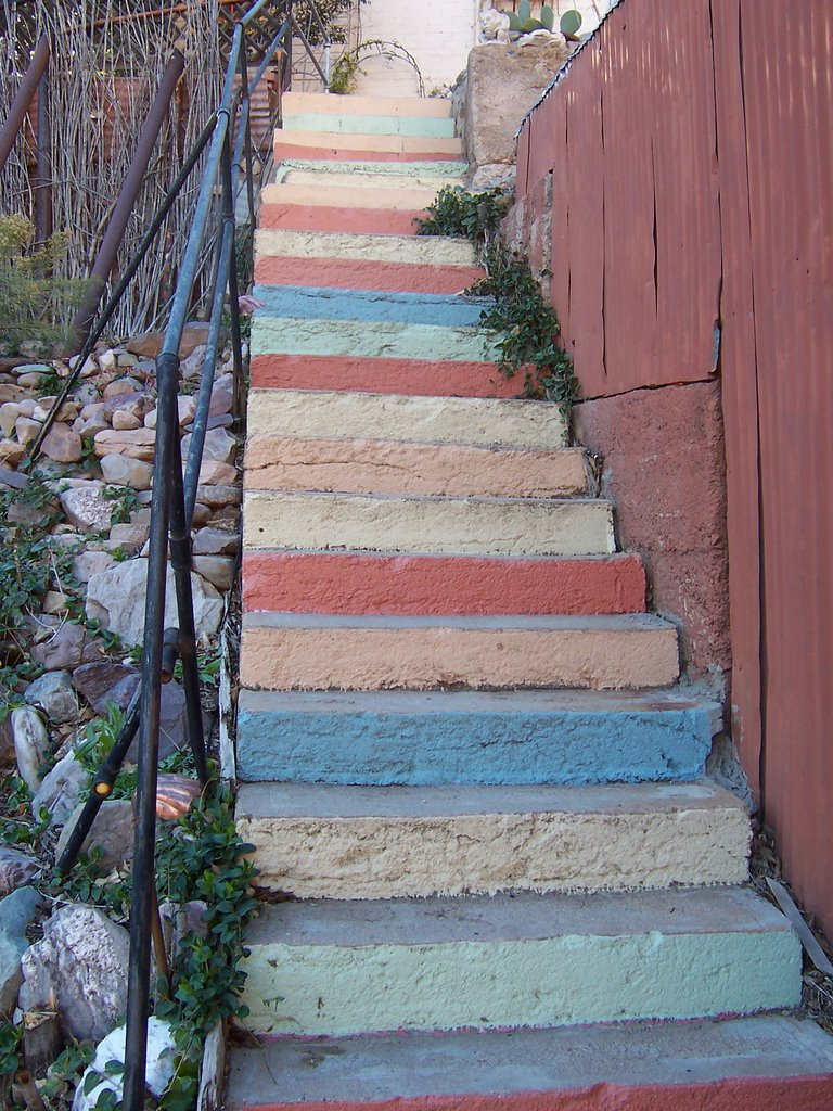 Stairs, Bisbee, AZ, by David McGuiggan