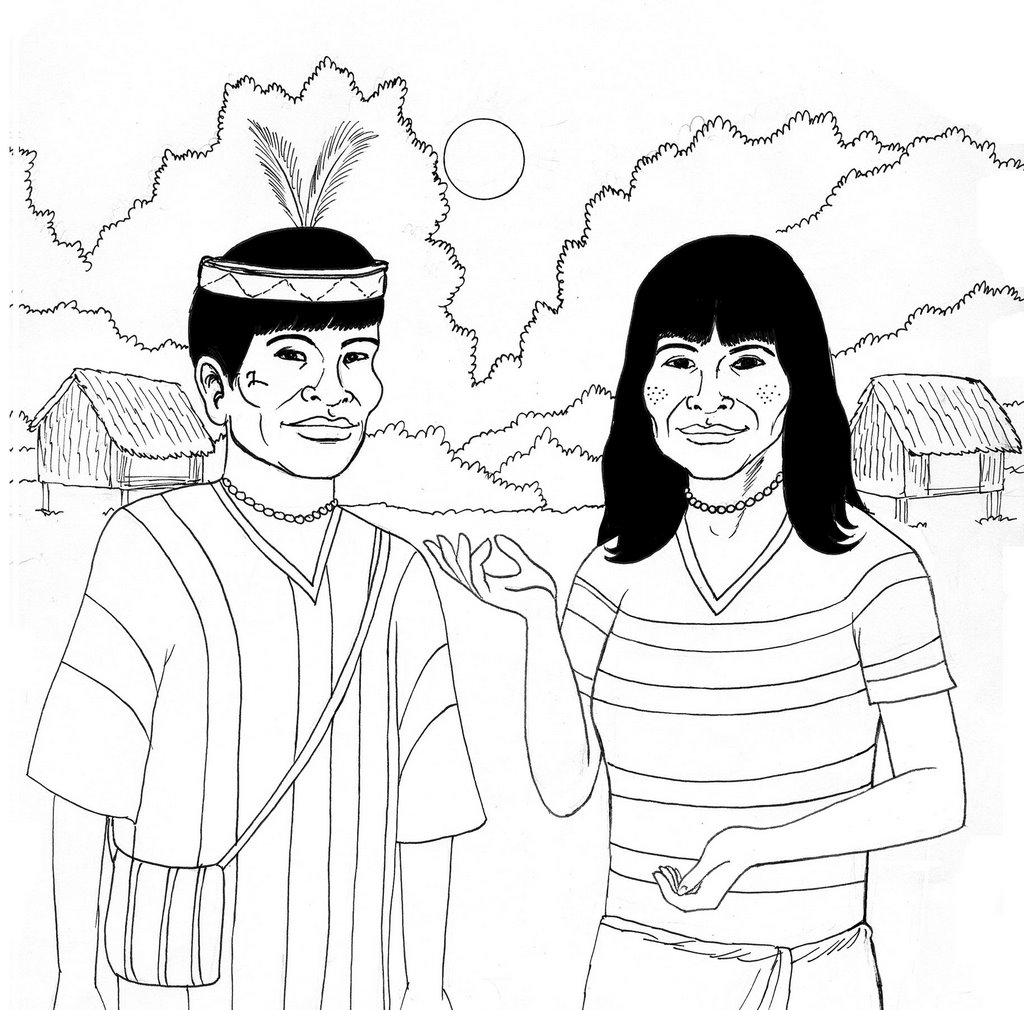 JUAN CARLOS SILVA BOCANEGRA Dibujos para la ONG Terra Nuova