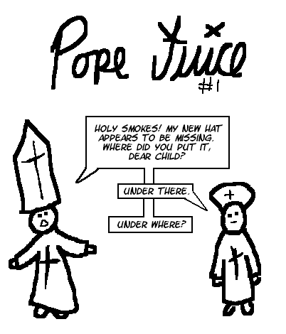 Pope Hat Drawing Pope Juice 11 The Lost Hat