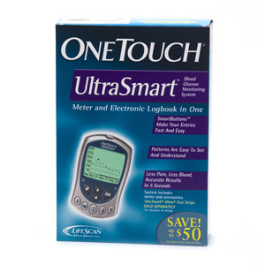 Diabetes care onetouch ultrasmart blood glucose monitoring system