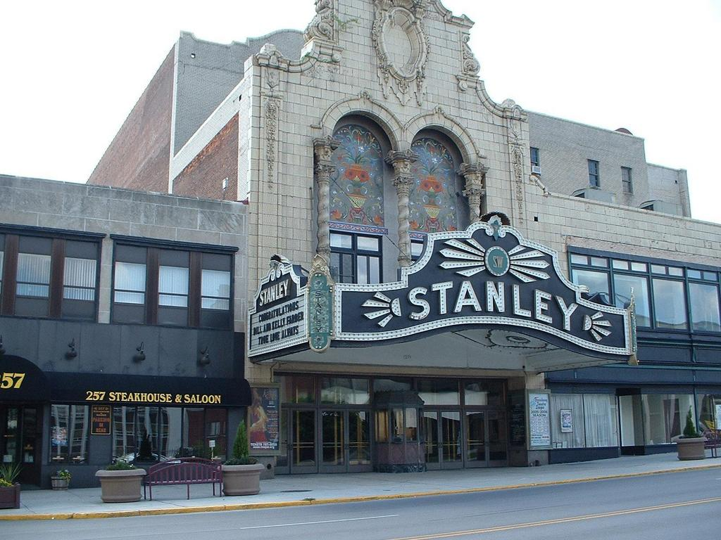 Stanley theater utica wedding