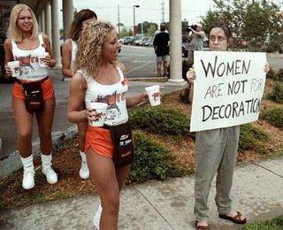 Las mujeres no son para decoracion
