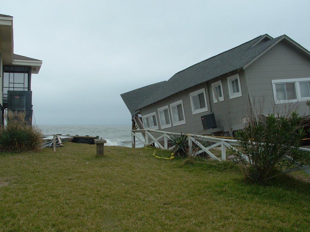 edisto beach  south carolina  old beach houses lost to erosion